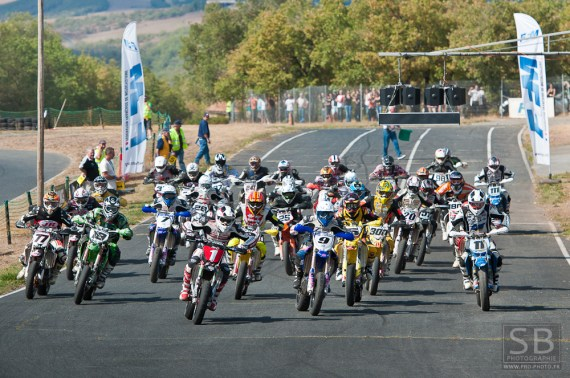 course de supermotard en france