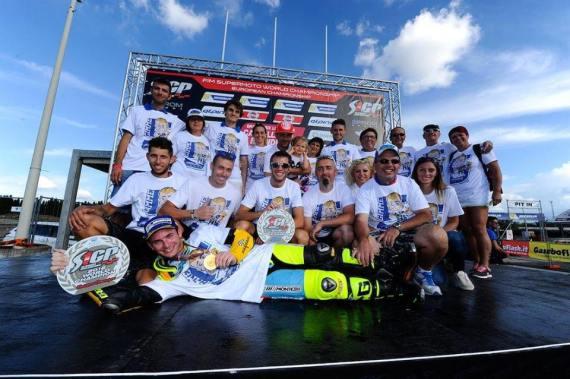 Thomas chareyre champion du monde 2016 supermotard france