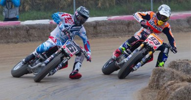 Dirt track en France piste de macon