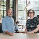 Mason Poe and Kendra Rainey, co-founders of the Edgar Allan agency