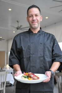 For David Bagner, executive chef at Yellowfin Bar & Grill, local seafood is a passion.