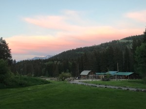 Mountain Sky Guest Ranch, owned by Arthur Blank, is tucked away on 17,000 acres in Montana's Paradise Valley.