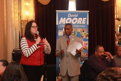 David Moore 2016 - 17th Ward Senior Appreciation Luncheon - #1