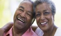 IMAGE OF A BLACK SENIOR COUPLE