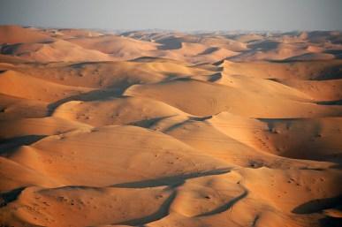 ATV tracks in the Rub 'al Khali | AllisonOutside.net
