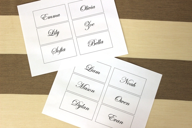 Easy And Elegant Diy Flower Place Cards For Your Wedding Petal Talk
