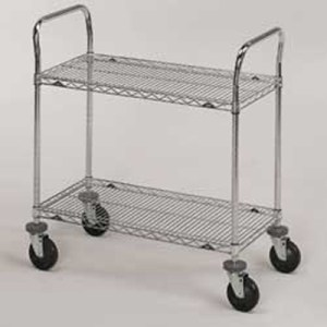 Stainless Steel Wire Cart | 1-800-Nursery.com