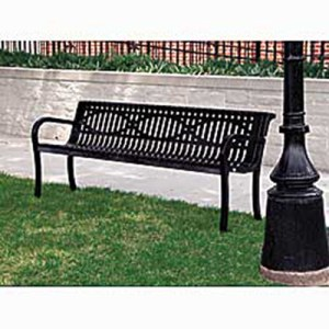 Steel Decorative Bench