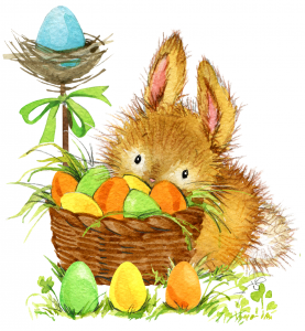 FREE Easter Bunny Card