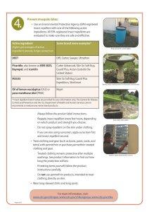 Control Mosquito Habitats