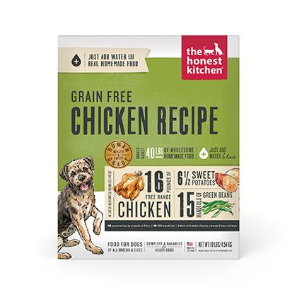 the honest kitchen aldo cabinet force grain free chicken dehydrated dog food