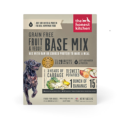 honest kitchen preference country style tables the grain free base mix ...