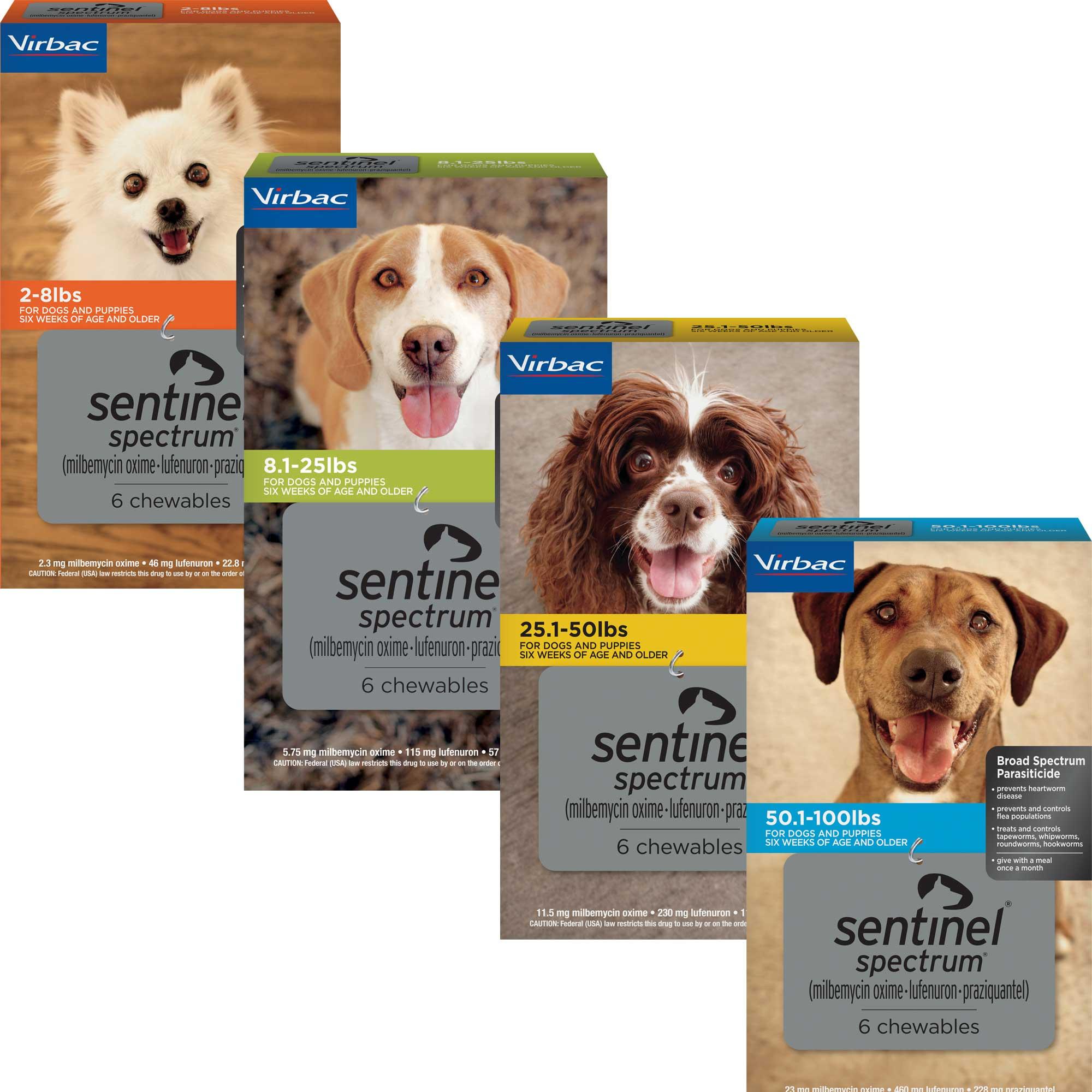 Sentinel Spectrum | Heartworm & Flea Prevention for Dogs ...
