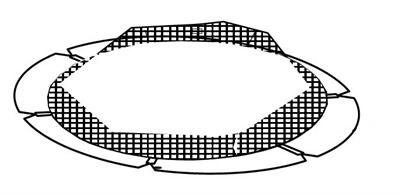Pad with Net for SBT40