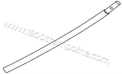 Curved Frame Tube for 88