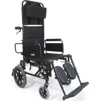 transport wheel chair revolving manufacturing process karman ultra light reclining 1800wheelchair com