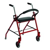 walker roller chair revolving online buy rollators rolling walkers travel walking aids 1800wheelchair com drive two wheeled with seat