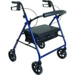 Walker Roller Chair Modern Nursery Rollators Rolling Walkers Travel Walking Aids 1800wheelchair Com Probasics Bariatric Aluminum Rollator With 8 Wheels