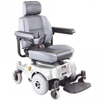 shower chair with back and armrests office chairs without wheels uk compact mid-wheel drive power from ctm | 1800wheelchair.com