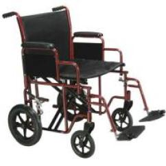 Liberty 312 Power Chair Battery Balance Cushion For How Much Does A Wheelchair Weigh Large Red Transport