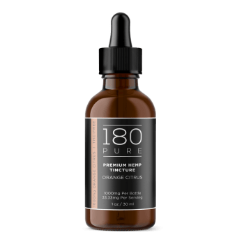 180 Pure Tinctures Orange 1000mg CBD
