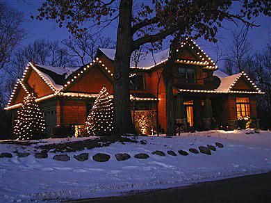 Christmas light pros SF  Installation