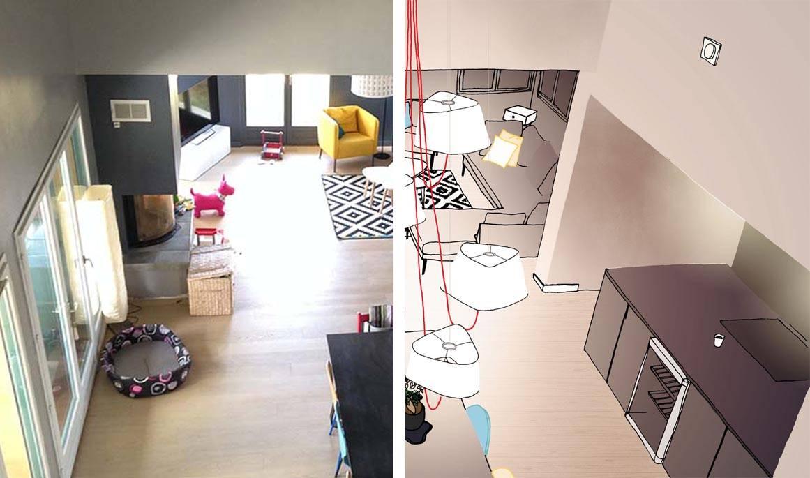 Lustre Haut Plafond HO84 Jornalagora