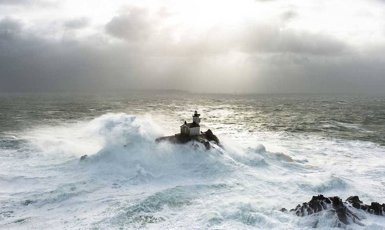 Vivre Dans Un Phare Vivre Au Milieu De La Mer Dans Un
