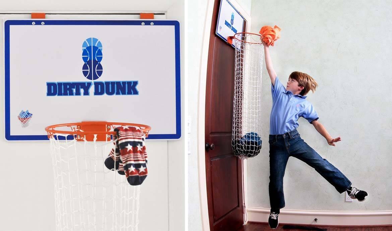 Un Panier A Linge En Forme De Panier De Basket Faire Le Menage En S Amusant