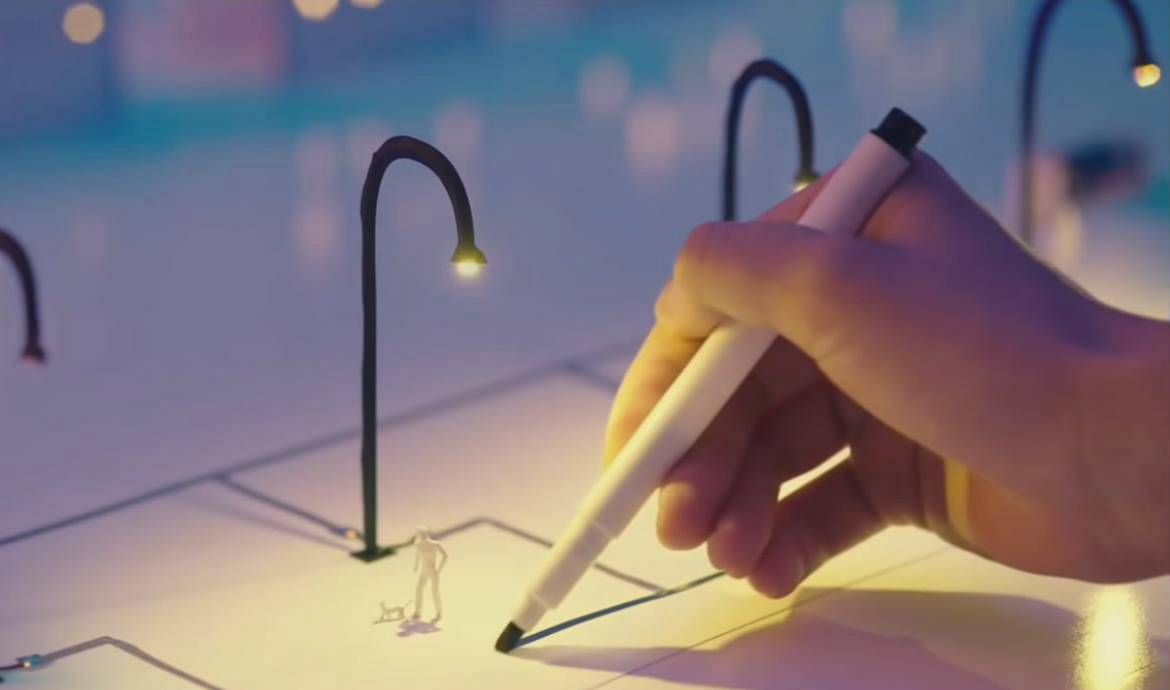Circuit Scribe Le Stylo Encre Conductrice