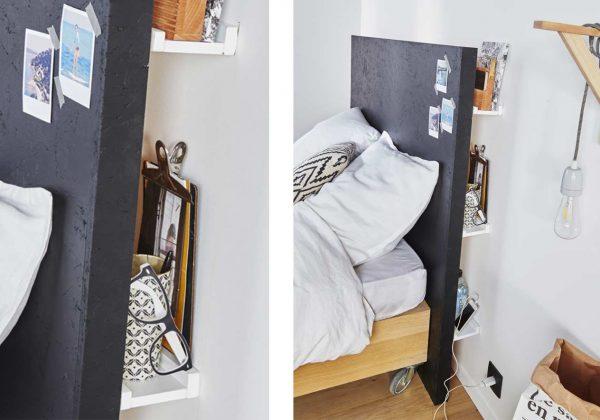 diy pour une tete de lit astucieuse
