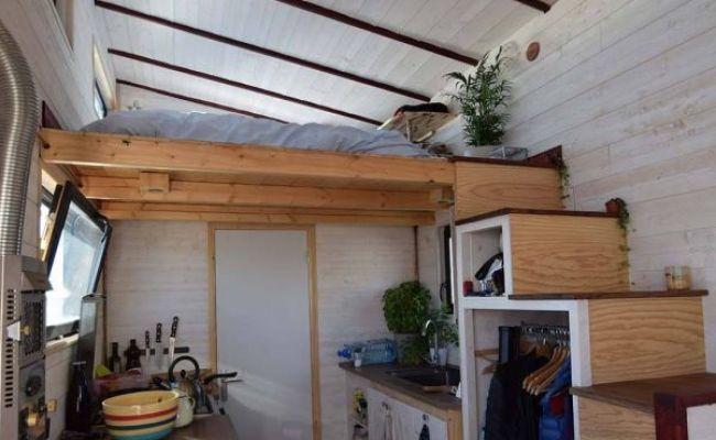 Tiny House En Autoconstruction Elle A Construit Sa Mini