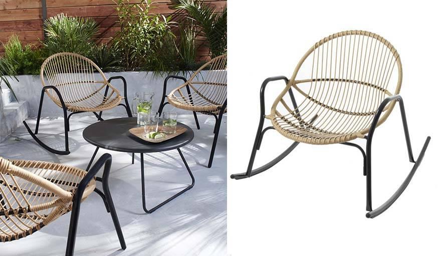 Fauteuil Bascule Jardin Beautiful Chaise A Bascule