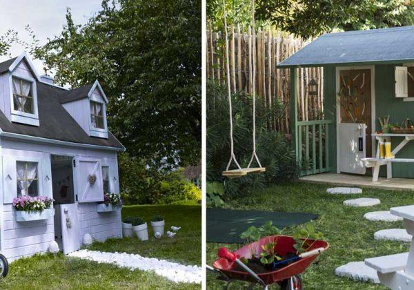 petites maisons en bois pour enfants