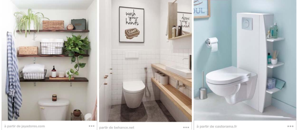 13 Astuces De Rangement Dans Les Toilettes Tagre DIY