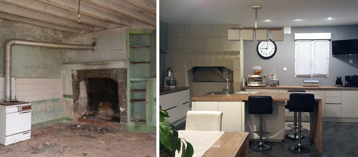 Maison Ancienne Renovee Contemporaine - Décoration de maison idées ...