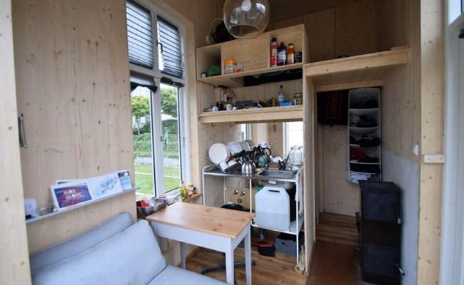 Un Micro Appartement Comme Une Tiny House Contre Les