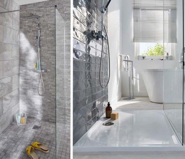 bains avec une douche a l italienne