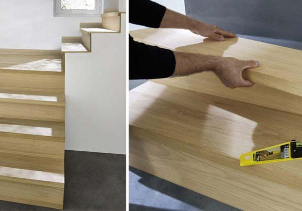 Renover Un Escalier Des Kits Pour Habiller De Bois Des Marches D Escalier