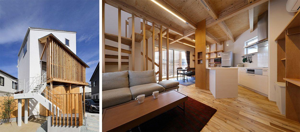 Japon Une Maison Minimaliste Lintrieur Bois 18h39fr