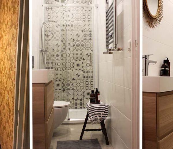 Optimiser une petite salle de bains couloir  Amnager une salle de bains en longueur  18h39fr