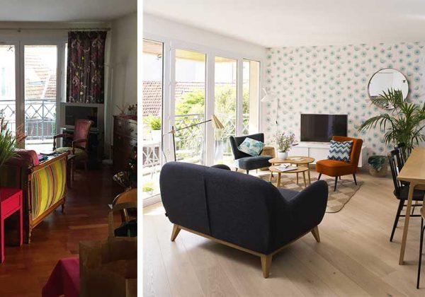 appartement en style scandinave
