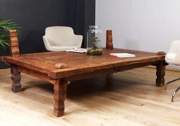 restaurer une table en bois vintage