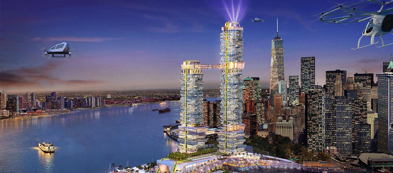 Dcouvrez Pier 2 le gratteciel futuriste et colo de NewYork