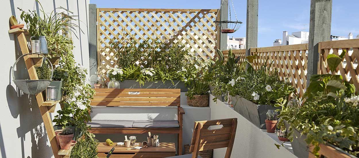 conseils de pros pour amenager votre petit balcon et profiter des beaux jours