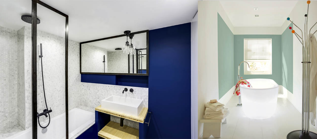 couleurs pour votre salle de bains