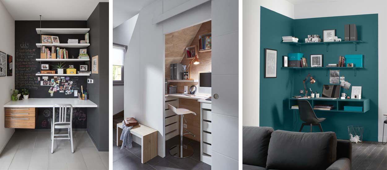 astuces pour creer un petit espace bureau