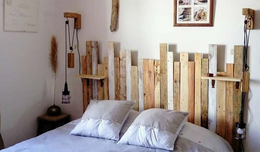8 inspirations et DIY pour construire une tte de lit avec rangements intgrs