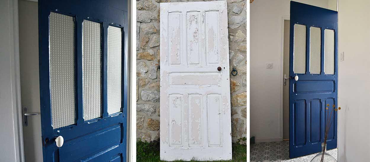 tutoriel relooker une porte en bois en