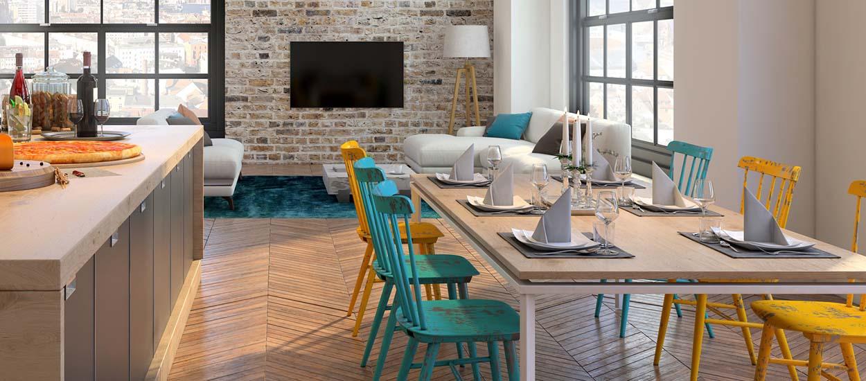 chaises depareillees conseils pour mixer les styles et les couleurs